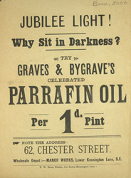 Advert For Graves & Bygraves Parrafin Oil